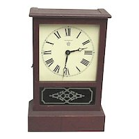 Antique Waterbury Cottage Clock
