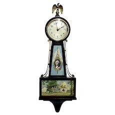Wall Clock Seth Thomas Mt. Vernon Banjo Clock