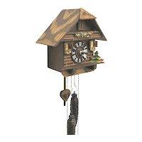 Cuckoo Clock Weight Driven Wall Clock Keeps Time