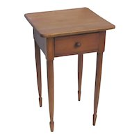 American Stand  One Drawer  Table