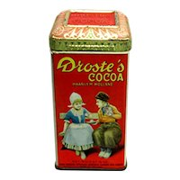 Droste's Cocoa Advertising Tin