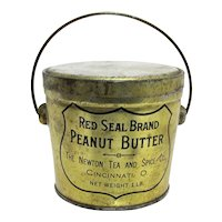 Red Seal Brand Peanut Butter Tin or Pail