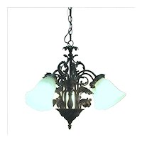 Chandelier Five Drop Lights Ceiling Light  Fixture