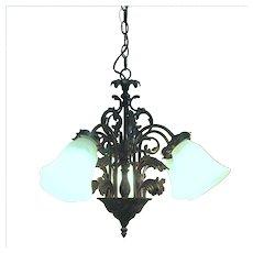 Chandelier Five Drop Lights Ceiling Light  Fixture