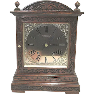 Winterhalder and Hofmeier Quarter Chiming Mantle Clock   ON SALE