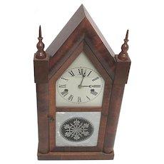 Mantel Clock Ansonia Full Size Steeple Clock Fully Restored