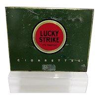 Lucky Strike Cigarette Advertising Tin