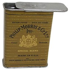 Philip Morris Pocket Cigarette Advertising Tin