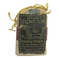 Bull Durham Tobacco Pouch Unopened Advertising Tobacco