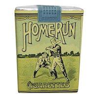 Advertising Unopened Home Run Baseball Cigarette Pack