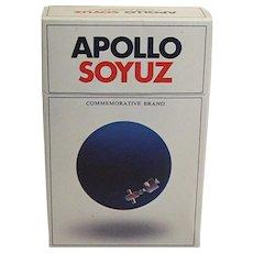 Advertising Unopened Apollo/Soyuz Cigarette Pack