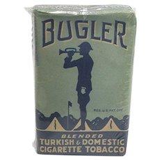 Advertising Unopened Bugler Cigarette Tobacco
