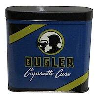 Advertising Tin Bugler Cigarette Case
