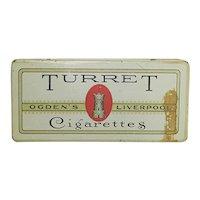 Advertising Tin Turret Virginia Cigarette