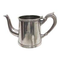 Tea  Pot German Schwerter Silverplate