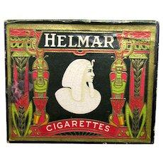 Helmar Cigarette Advertising Box
