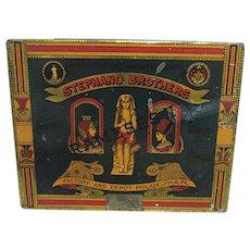 Stephano Brothers Rameses 11 Egyptian Cigarette Tin