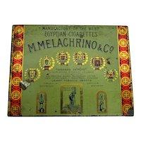 M. Melachrino & Co. Egyptian Cigarettes Tin