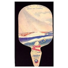 TUMS Natures Remedy Advertising  Lithograph Fan