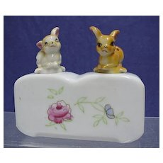 Fawns Salt and Pepper Nodder Set NO Damage and NOT a Repro Set