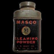 Cleaning Powder MASCO Sample Size