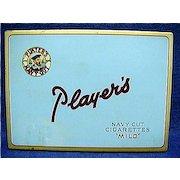 Players Cigarette Pocket Advertising Tin