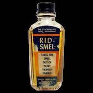 Rid-Smel Concentrated Paint Deodorant Bottle with  Original Contents