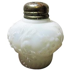 Glass Salt Shaker Eagle Glass Co. Cosmos Scroll Single Shaker