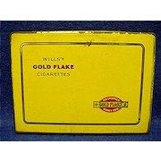 Will's Gold Flake Cigarette Pocket Advertising Tin