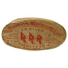 Radways Regulator Pill Tin