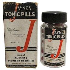 1930 Drugstore or Pharmacy  Dr. Jayne Tonic Pills