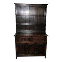 Antique Welsh Cupboard 19th Century Oak
