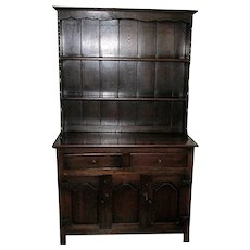 Antique Welsh Cupboard 19th Century Oak