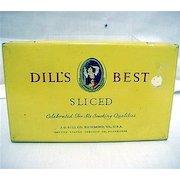 Dills Best Advertising Tobacco Tin