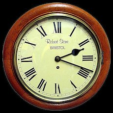 SOLD   English Fusee Pub Clock