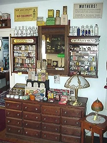 doctor lyons tooth powder tin mint unopened condition drury house antiques ruby lane. Black Bedroom Furniture Sets. Home Design Ideas