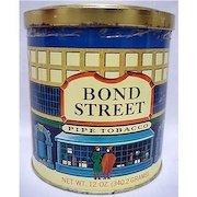 Bond Street Advertising Tobacco Tin