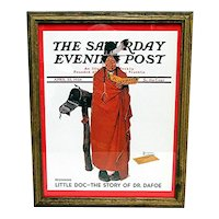 Advertising Framed Print For The Saturday Evening Post Cover by Norman Rockwell Titled See America First April 23, 1938