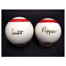Salt and Pepper Set Bowling Ball Shakers