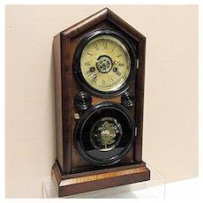 Antique American Ingraham Clock Company Mantel Clock