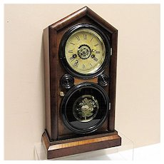 Antique Ingraham Mantel Clock 100% Original And Fully Restored