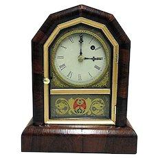 Antique American Gilbert Clock Company Mantel Clock