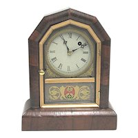 Antique Mantel Clock by Gilbert Clock Co. 100% Original Mantle Clock