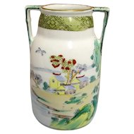 Vase Nippon Hand Painted Porcelain
