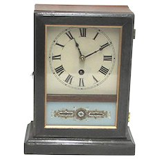 Antique American Mantle Clock Or Cottage