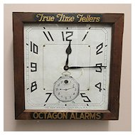 New Haven Advertising Clock for Tom-Tom Alarm Clocks 100% Original