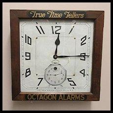 New Haven Advertising Clock for Tom-Tom Alarm Clocks 100% Original