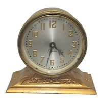 Antique Desk or Mantel Clock by Sessions Clock Co.  Mantle Clock Runs and Keeps Time