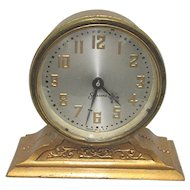 Antique Desk or Mantel Clock by Sessions Clock Co.  Runs and Keeps Time
