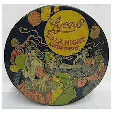 Lyons Gala Night Assortment Biscuit Tin
